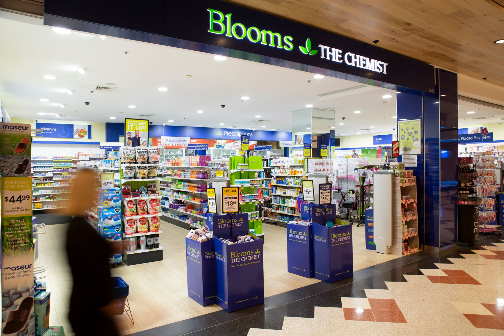 Blooms The Chemist PR and Content Agency