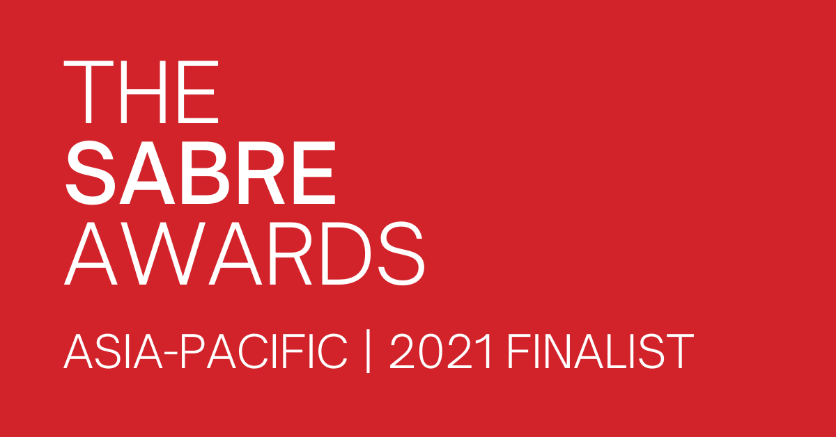 The 6AM Agency listed as Finalist in Sabre Awards Asia-Pacific 2021